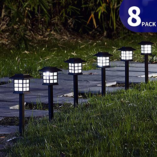 Best top rated solar pathway lights may 2018 update for Top rated landscape lighting